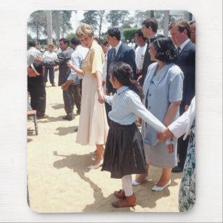 059 princesa Diana Egipto 1992 Tapete De Ratón