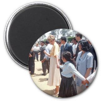 059 Princess Diana Egypt 1992 2 Inch Round Magnet