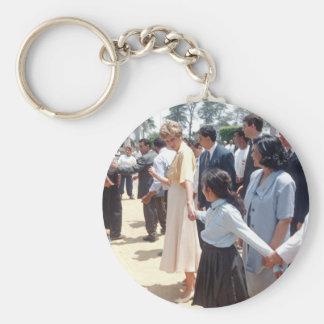 059 Princess Diana Egypt 1992 Keychain