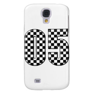 05 auto racing number galaxy s4 cover