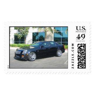 05 Cadillac CTS-V Postage Stamp