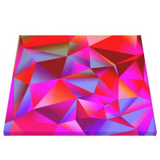 05 geométricos calientes lona estirada galerías