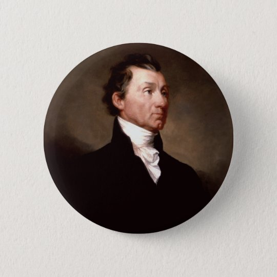 05 James Monroe Pinback Button