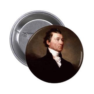 05 James Monroe Pinback Button
