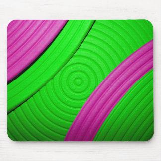 05 Mousepad rosado y verde Tapete De Raton