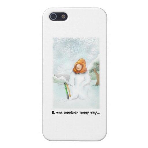 05. Snowman iPhone 5/5S Case