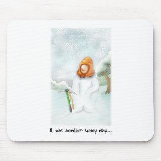 05. Snowman Mouse Pad