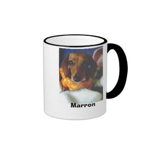 060415_1729~0001, Marron Ringer Coffee Mug