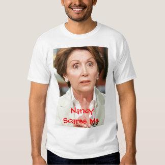 060508_Pol_PelosiEX_BIG, Nancy Scares Me Tee Shirt