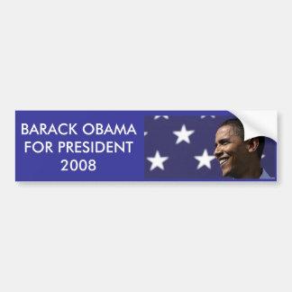 060922_BarackObama_Xtrawide, BARACK OBAMA FOR P... Bumper Sticker