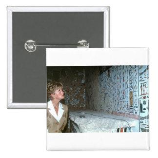 060 princesa Diana Egipto 1992 Pin