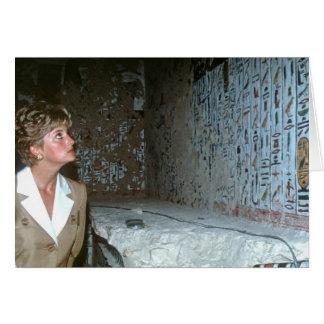 060 princesa Diana Egipto 1992 Tarjeta De Felicitación