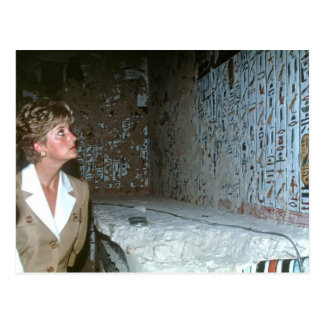 060 Princess Diana Egypt 1992 Postcard