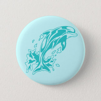 0613032011 Delfin (Animales) Pinback Button
