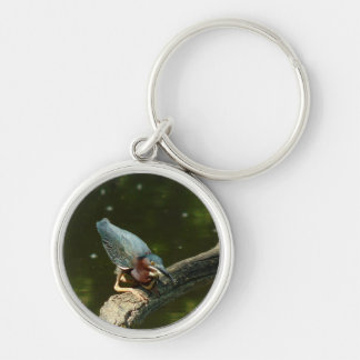 061311-362-KC Silver-Colored ROUND KEYCHAIN