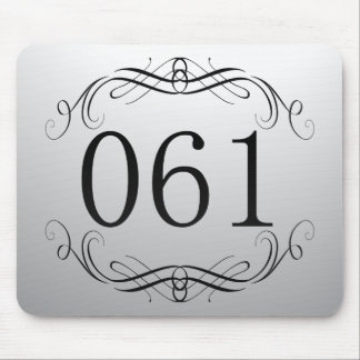 061 Area Code Mouse Pad