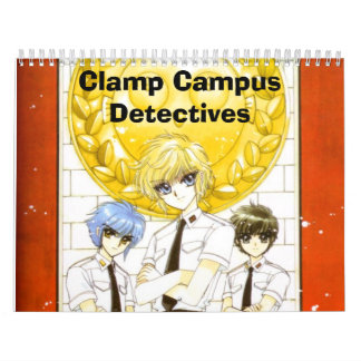 062, Clamp Campus Detectives Calendar