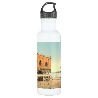06650 The Doges' Palace and the Piazzetta, Venice, Stainless Steel Water Bottle