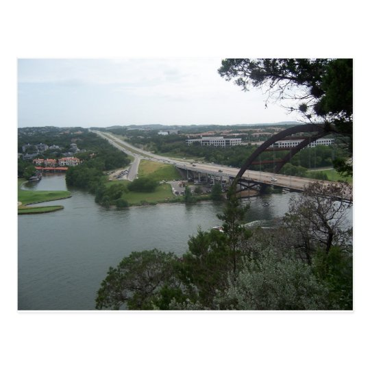 068 Austin Cliffside Postcard