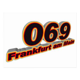 069 Frankfurt am Main Postcard