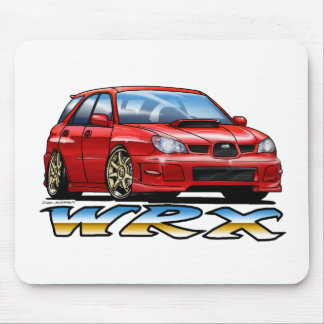 06_09_Wagon_Red Mouse Pad