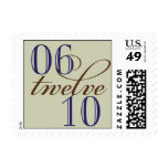 06-12-10 Save the Date Postage Stamps