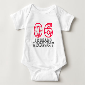 06 I Demand Recount Birthday Designs Infant Creeper