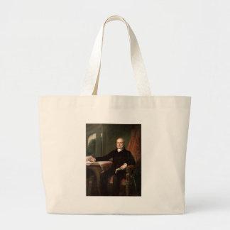 06 John Quincy Adams Large Tote Bag