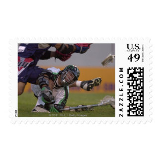06 Jul 2001:   Casey Powell #22  Long Postage Stamp
