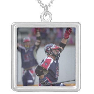 06 Jul 2001:   Dave Evans #16  Boston Silver Plated Necklace