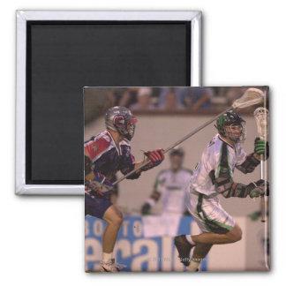 06 Jul 2001:   Gary Gait #1  Long Island 2 Inch Square Magnet