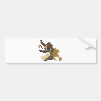 06.Mictlantecuhtli - Mayan/aztec Creator good Bumper Sticker