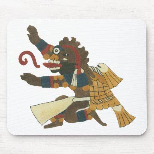 06.Mictlantecuhtli - Mayan/aztec Creator good Mouse Pad