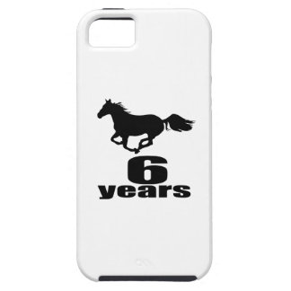 06 Years Birthday Designs iPhone SE/5/5s Case