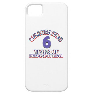 06 years of keeping it real iPhone SE/5/5s case