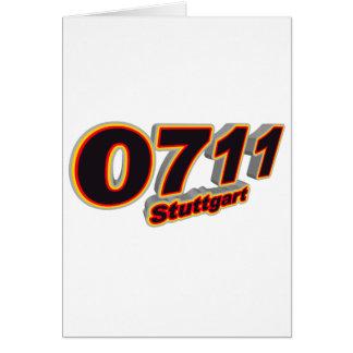 0711 Stuttgart Card