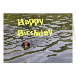 071, Happy Birthday Greeting Card