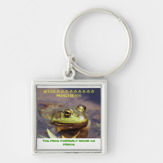 072606-3-AKC THE FROG FORMERLY KNOWN AS PRINCE, KEYCHAIN