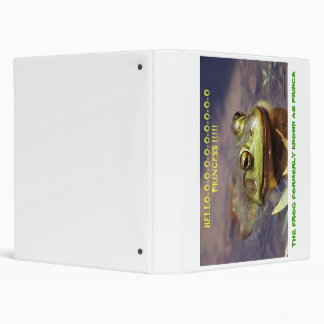 072606-3 THE FROG FORMERLY KNOWN AS PRINCE, COP... 3 RING BINDER