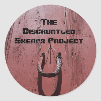 074, The Disgruntled Sherpa Project Classic Round Sticker