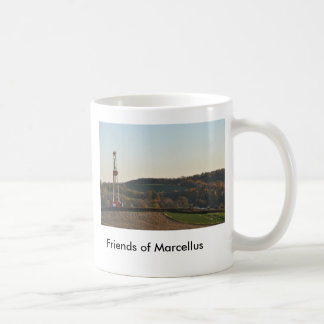 078, Friends of Marcellus Classic White Coffee Mug