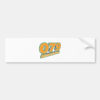079 Ahmedabad Car Bumper Sticker