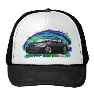 07-09 Speed3_Black Trucker Hat