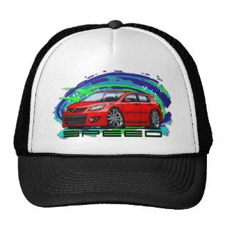 07-09 Speed3_Red Trucker Hat
