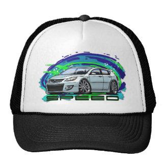 07-09 Speed3_White Trucker Hat