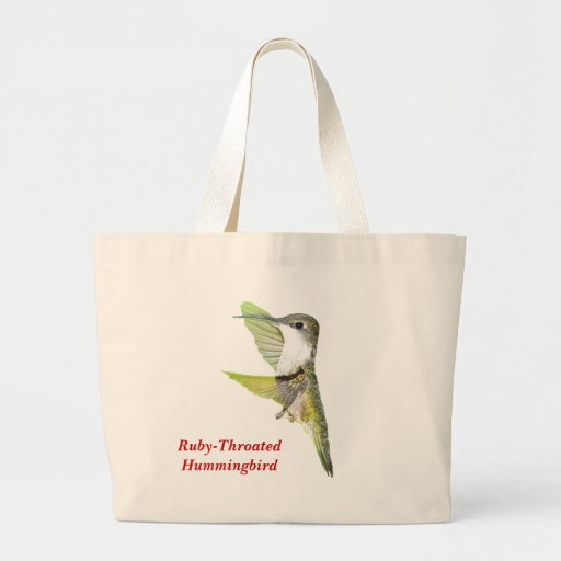 07-20-06 Hummingbirds0033ac, Ruby-Throated Humm... Tote Bags