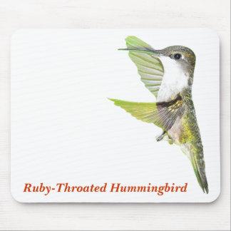 07-20-06 Hummingbirds0033ac, Ruby-Throated Humm... Mouse Pad