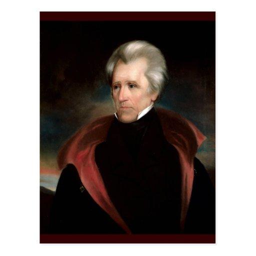 07 Andrew Jackson Postal