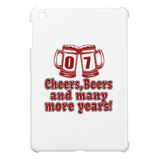 07 Cheers Beers Birthday Designs iPad Mini Cover