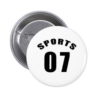 07 diseños del cumpleaños de los deportes pin